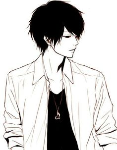 Hot guy ahead/// iS THIS SUNAKAWA MAKOTO WITH BLACK HAIR OH MAH GO D