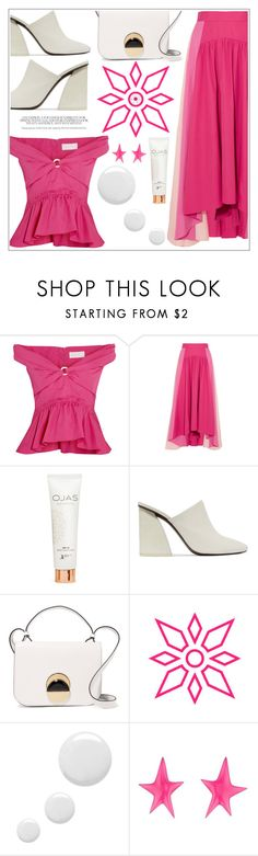 """""""Sem título #608"""" by soleuza ❤ liked on Polyvore featuring Peter Pilotto, OJAS, Mercedes Castillo, Marni, Topshop and Alexis Bittar"""
