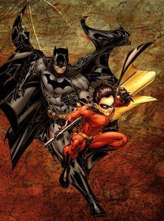 Bats and Robin #Batman #Comics #Superheroes