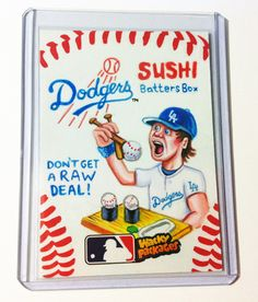#wackypackages #mlb #sketchcard #wackypacks