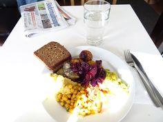 Légumes - Stockholm, Sverige. Buffélunch på Légumes