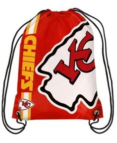 Forever Collectibles Kansas City Chiefs Big Logo Drawstring Bag - Red