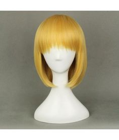 Attack on Titan Shingeki No Kyojin Armin Blonde Gold Cosplay Wig <3 -->> http://www.trustedeal.com/attack-on-titan-shingeki-no-kyojin-mikasa-ackerman-cosplay-wig1.html