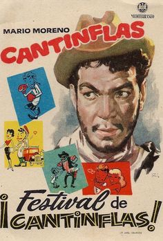 Vintage Cantinflas movie poster by BlueGrizzlePapers on Etsy