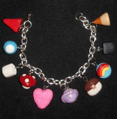HMsPrettyLittleJewels - I'm such a lushie handmade charm bracelet.buy it now
