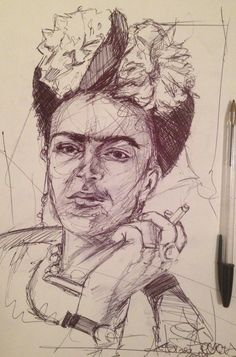#portrait #illustration #drawing