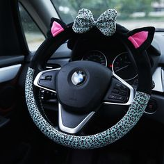 Cute Cat Ear Steering Wheel Cover – Cats Love Life