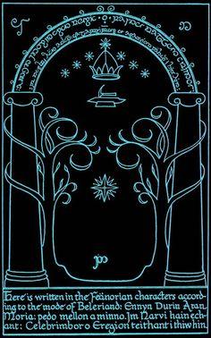 Moria's door