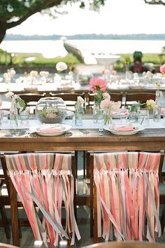 Brides: A Colorful Plantation Wedding in Charleston, South Carolina