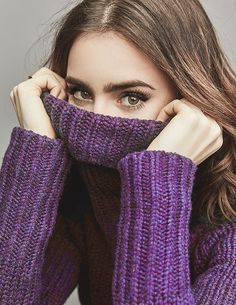 Lily Collins for People Magazine, February 2017. Pinned by @lilyriverside