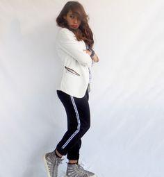 Spopolano i pantaloni sporty: scopri come indossarli al meglio per un look decisamente casual! #kissmylook