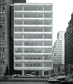 Pepsi Headquarters NY (1960) by Skidmore, Owings and Merrill LLP (SOM) .
