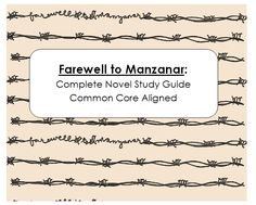007 Farewell to Manzanar, Japanese internment, Worksheets, HW