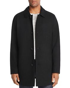 Cole Haan Men's Car Coat With Removable Liner In Black Mens Car Coat, Timberland Style, Timberland Fashion, Fashionable Snow Boots, Sweater Coats, Top Coat, Winter Dresses, Cole Haan, Winter Fashion
