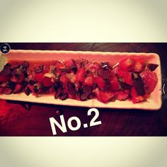 This wagyu tataki was the best #snapchatting #tataki #jap #foodporn #delicious #toriciya #izakaya #thepricewasntthatbad #overdressedforplace #fancy #no2 #seconddish by chichan18
