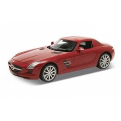 New Welly models available to order on-line now!!  Mercedes SLS AMG (C197) - Red