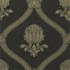 The Original Morris & Co - Arts and crafts, fabrics and wallpaper designs by William Morris & Company | Products | British/UK Fabrics and Wallpapers | Granada (DMOWGR103) | Morris V Wallpapers