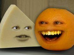 Annoying Orange - A Cheesy Episode - YouTube  http://twitter.com/annoyingorange