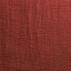 Opera - Garnet. With a matt appearance on one side and a gloss on the other this versatile finely woven linen fabric is reversible.