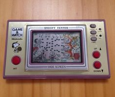 #Snoopy tennis - #nintendo game and #watch - 1982,  View more on the LINK: 	http://www.zeppy.io/product/gb/2/331684710916/