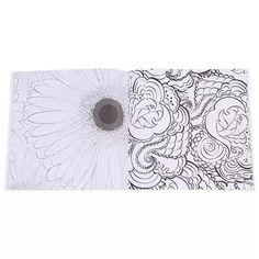 Buy Hang Qiao Secret Garden Flowers Monogatari Coloring Book Black And White Online At Lazada