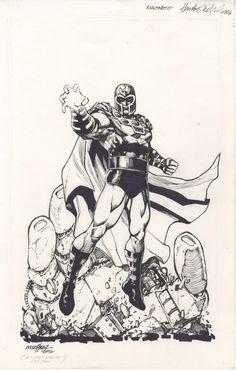 Magneto of the X-Men by Huebert Khan Michael