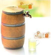 Envío gratis 1:12 barril de cerveza y la taza diy dollhouse miniatura de los muebles, miniatura mini accesorios de cocina de juguete de regalo navidad(China (Mainland))