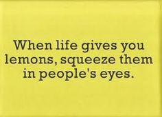 Lemons are good for so many things!!!