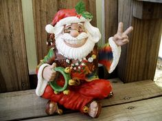 Hippie Santa    Smile