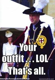 LOL (The Inner Duchess of Kate Middleton)