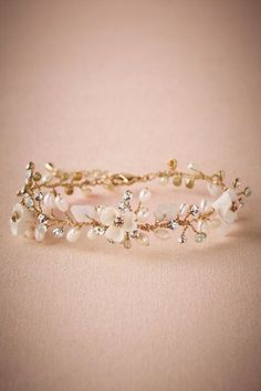 BHLDN Morning Dew Bracelet in Shoes & Accessories Jewelry Bracelets Cute Jewelry, Body Jewelry, Women Jewelry, Jewelry Bracelets, Glass Jewelry, Hair Jewelry, Chain Bracelets, Craft Jewelry, Cheap Jewelry