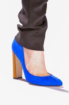 Glamour a tus pies: los zapatos más chic de las semanas de la moda. J. Mendel Otoño / Invierno 2013