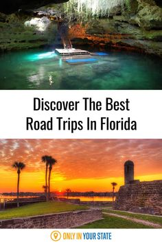 Add the best road trips in Florida to your travel bucket list. Discover charming small towns, beautiful natural wonders, lighthouses, and more. You'll find an adventure for you on this list! Atlanta Travel, Florida Travel, Haunted Attractions, Hidden Beach, Swimming Holes, Haunted Places, Sunshine State, Road Trip Usa, Lighthouses