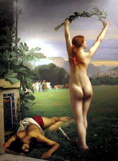 Atalanta Victorious by Pascal Dagnan-Bouveret
