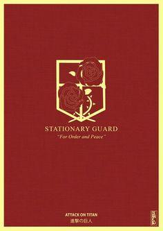 Shingeki no Kyojin Stationary Guard