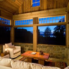 Three Season Room Design Ideas, Pictures, Remodel, and Decor - page 22.  This is my style!  Love it!  With skylights.