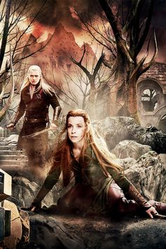 Yay! A new Tauriel pic to put on this board almost entirely dedicated to Thranduil, despite the name!