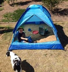 such a brilliant idea! Use a small tent as a sandbox. We've used a small tent to make a sandbox - it's now shaded & you can close it up at night to keep the cats out Cat Playground, Backyard Playground, Backyard Toys, Lifehacks, Small Tent, Small Small, Small Patio, Sand Pit, Kids Play Area