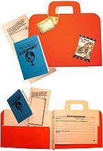 Project Passport World History Studies- folder and passport suitcase