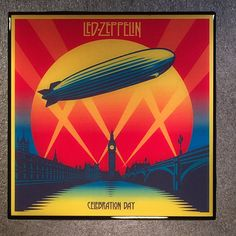 LED ZEPPELIN Celebration Day Coaster Record Cover Ceramic Tile