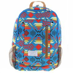 d27c7597c82b Hooey Rockstar Aztec Print Backpack with Hat Strap