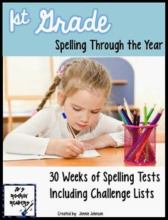 1st Grade Spelling Through the Year!