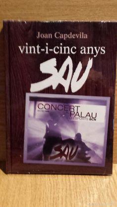 SAU. VINT-I-CINC ANYS. CONCERT AL PALAU D'ESPORTS. BCN 1996. LIBRO + DOBLE CD / PRECINTADO.