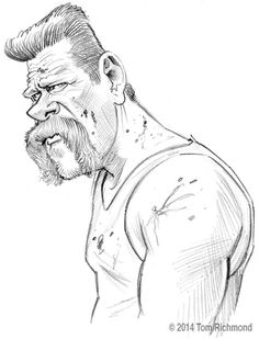 Michael Cudlitz © 2014 Tom Richmond