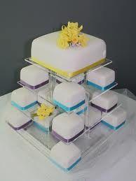 simple square wedding cake Google Search