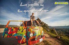 La PASIÓN es lo que REALMENTE importa. #Vida #Viaje #Aventura  Visita nuestra web #DeAventura www.deaventura.pe