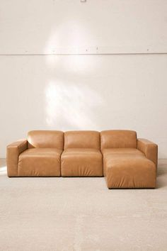 News flash: your boyfriend's brown couch might actually be salvageable. We've rounded up shoppable brown sofas that are chic enough for any space. Leather Bean Bag Chair, Leather Chair With Ottoman, Chair And Ottoman, Armless Chair, Chair Cushions, Recycled Furniture, Custom Furniture, Urban Furniture, Sitting Arrangement