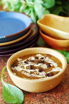 Black bean butternut squash soup by JuliasAlbum.com, via Flickr