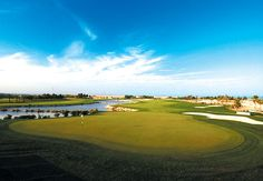 Doha #Golf Club - Home of the Qatar Masters. Lots of sand. Just don't let your game desert you...