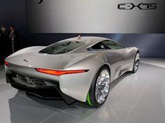 Jaguar apresentou no Salão de Paris o modelo futurista CX-75